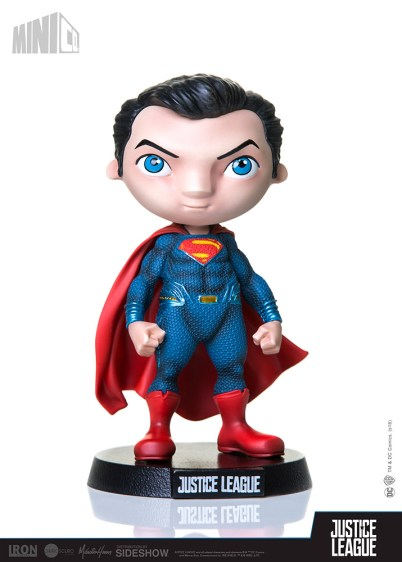 Superman Mini Co Statue by Sideshow Collectibles and Iron Studios