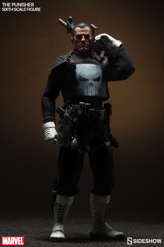Marvel The Punisher Sixth Scale Figure