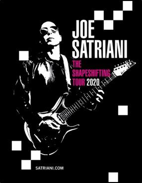 Joe Satriani Announces Worldwide Shapeshifting Tour 2020