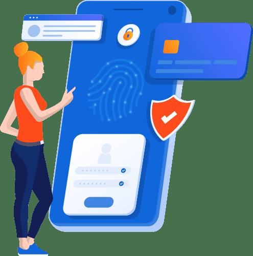 Mavi Mobil Ekranı