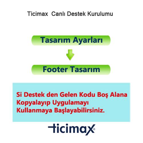 Ticimax Canlı Destek Kurulumu