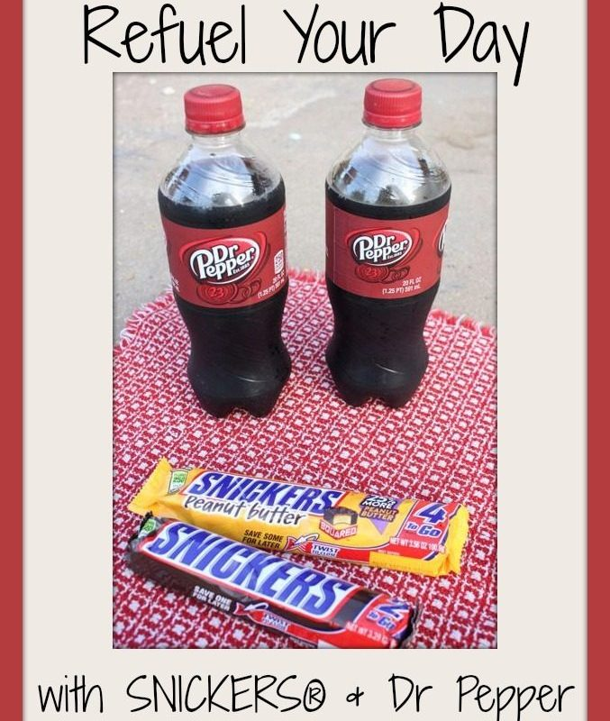 Refuel Your Day With SNICKERS® & Dr Pepper