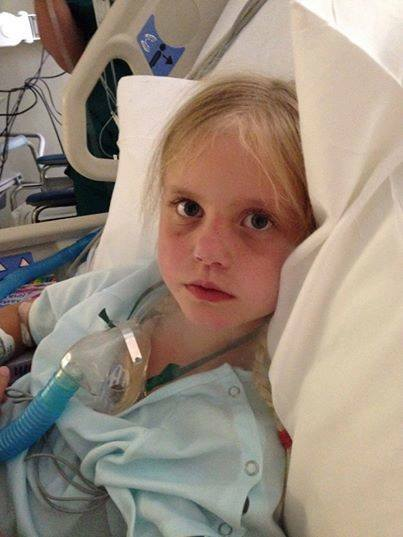 My 8 Year Old's Hospital Stay Last Week