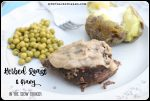 Slow Cooker Herbed Roast & Gravy