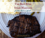 The Best Steak Marinade for Slow Cooker or Grill
