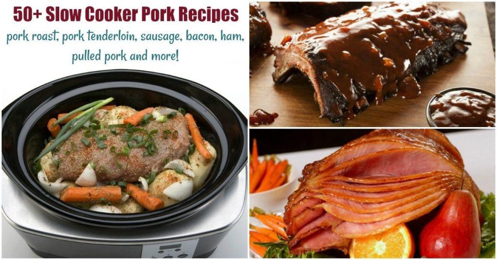 slow cooker pork recipes