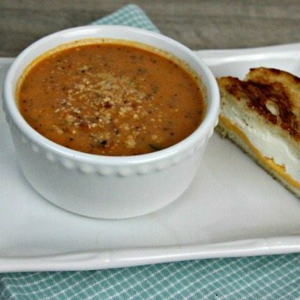 Homemade Tomato Basil Soup Recipe plus $399 value Giveaway!