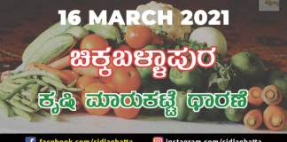 Chikkaballapur APMC Market Agriculture Products Prices Farmer