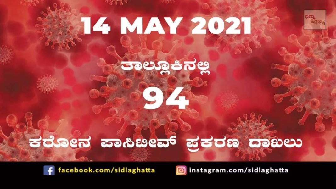covid sidlaghatta coronavirus cases covid-19 may 14