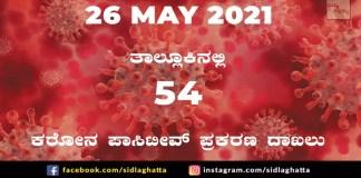covid sidlaghatta coronavirus cases covid-19 may 26