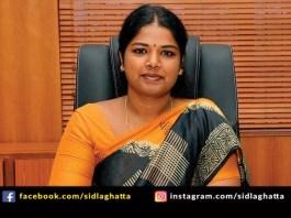 Shilpa Prabhakar Satish Tirunelveli District collector M K Stalin Special Officer Tamilnadu Sidlaghatta Sri Saraswati Convent Alumni
