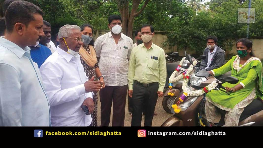 Specially Abled Vehicles Distribution