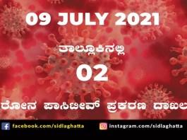Sidlaghatta Covid-19 Positive covid sidlaghatta Taluk coronavirus cases july 9