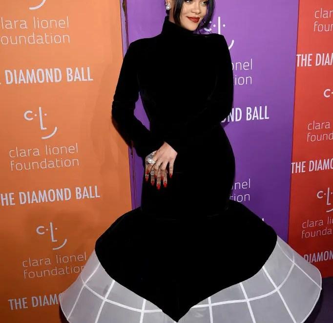 Rihanna during her 5th annual Diamond Ball