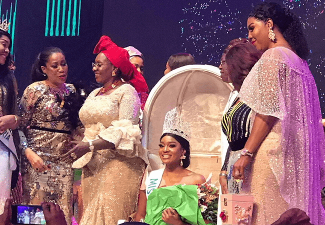 Beauty Etsanyi Tukura is miss Nigeria 2019 [photos]