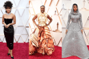 Check out the red carpet fashion at the 2020 Oscars