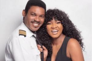 'I don't know how to feel' - Omotola Jalade-Ekeinde says as she shares photos of her husband flying out Chinese nationals