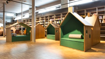 Furuset reading houses