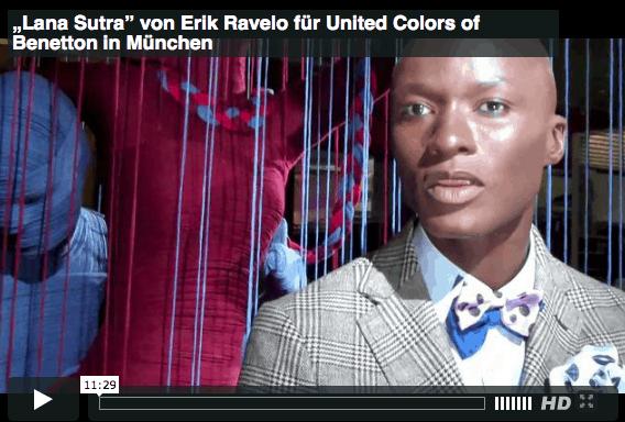 Promi-Interviews im Dienste der Woll-Lust: Als Web-TV-Reporter für Benetton unterwegs