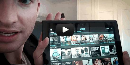 Im Einsatz als Android-App-Reporter