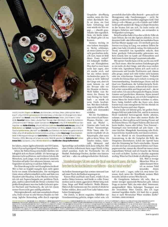 Interview mit Brigitte von Boch (für how to spend it)