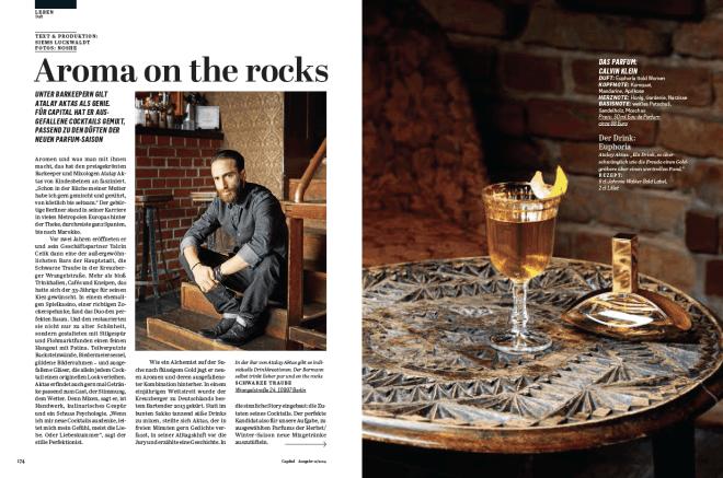 Aroma on the Rocks (für Capital)