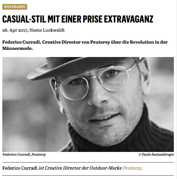 Was Mann trägt: Federico Curradi, Peuterey (für Capital.de)