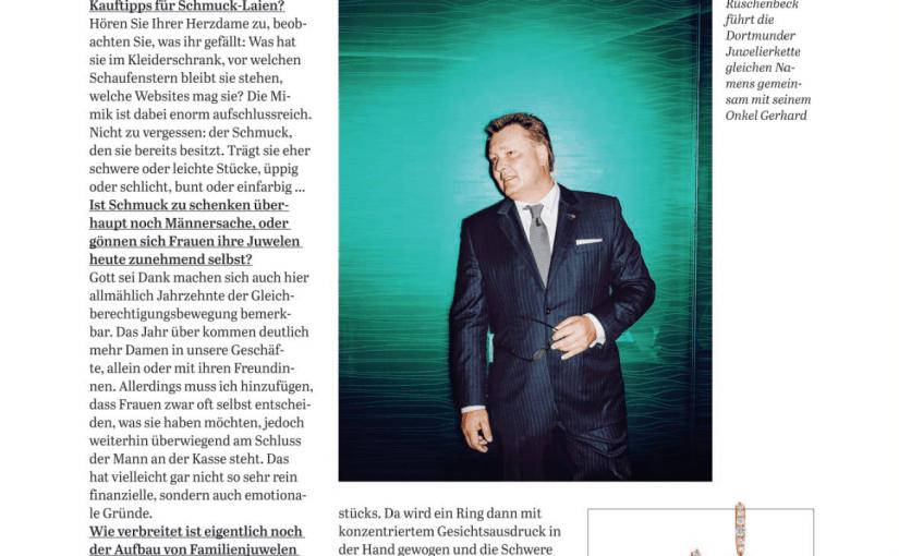 Interview: Wilhelm Rüschenbeck (für Capital)