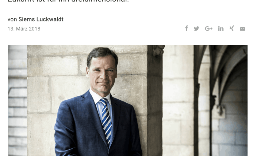 Zeitfragen: Peter C. Stas, Frédérique Constant u. Alpina (für Capital.de)