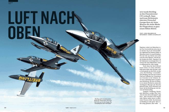Breitling: Luft nach oben (für Capital)