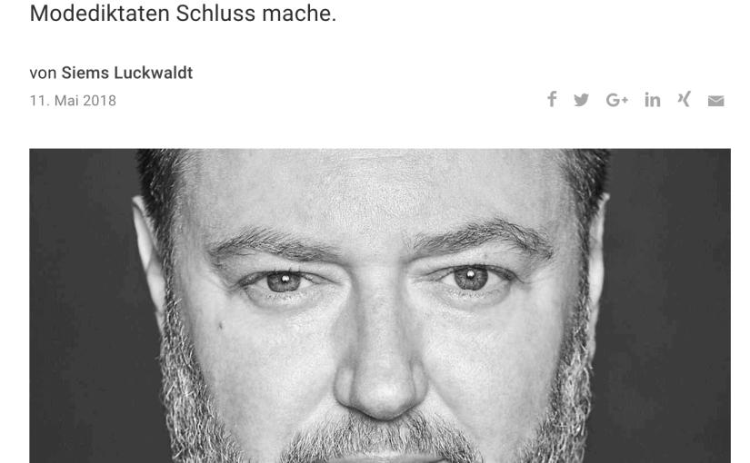 Was Mann trägt: Marc Biggemann, Seidensticker (für Capital.de)