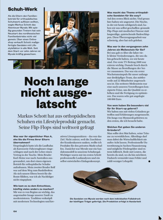 Interview: Markus Schott, MyVale (für Höhle der Löwen)