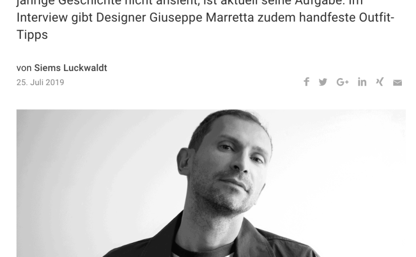 Was Mann trägt: Giuseppe Marretta, Pringle of Scotland (für Capital.de)
