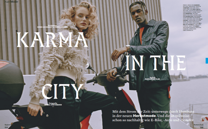 Karma in the City (für Business Punk)