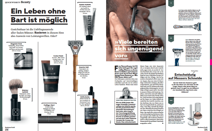 Quick 'N' Dirty: Fashion & Beauty 5/2019 (für Business Punk)
