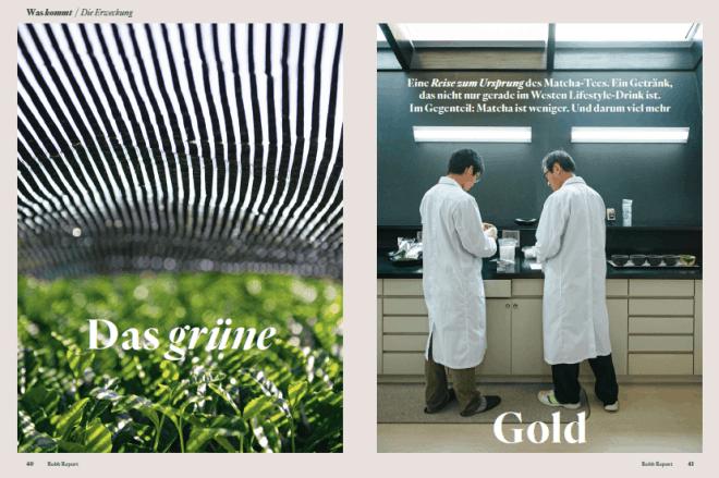 Das grüne Gold (für Robb Report)