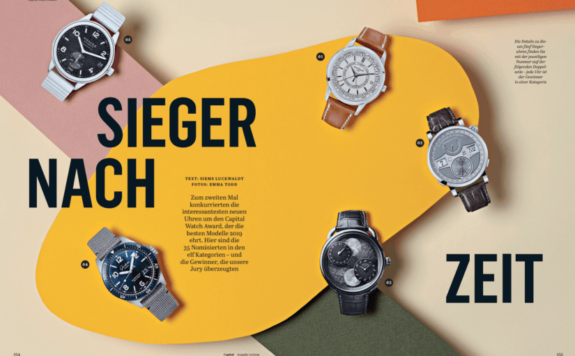 Capital Watch Award 2019: Sieger nach Zeit (für Capital)