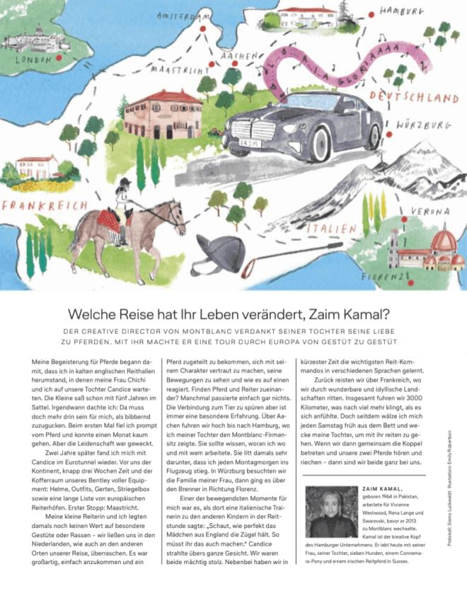 Reise meines Lebens: Zaim Kamal, Montblanc (für Lufthansa Exclusive)