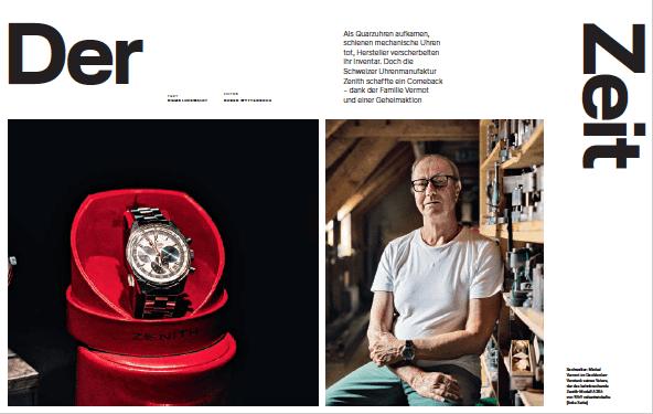 Zenith: Der Zeit voraus gedacht (für Lufthansa Exclusive)