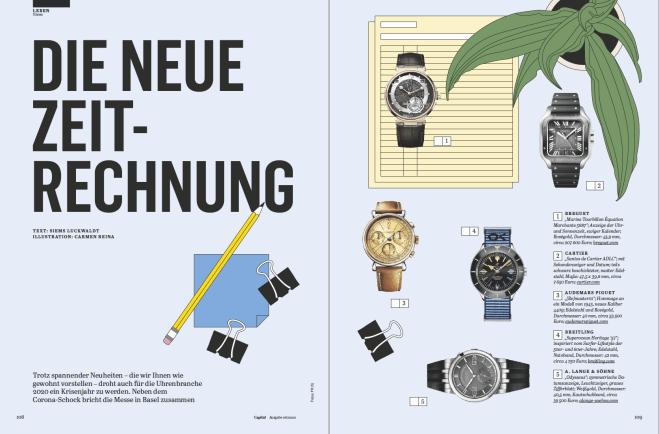 Uhren-Report: Die neue Zeitrechnung (für Capital)