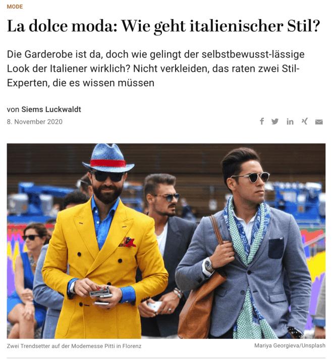 Interviews: Raffaello Napoleone und Lars Braun (für Capital.de)