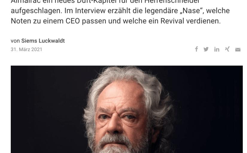 Duft des Erfolgs: Michel Almairac, Robertet (für Capital.de)