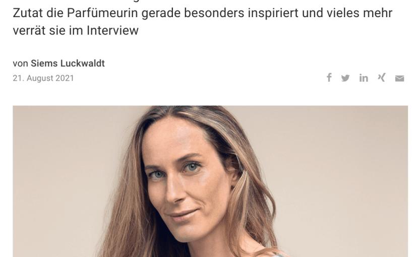 Duft des Erfolgs: Elise Benat (für Capital.de)