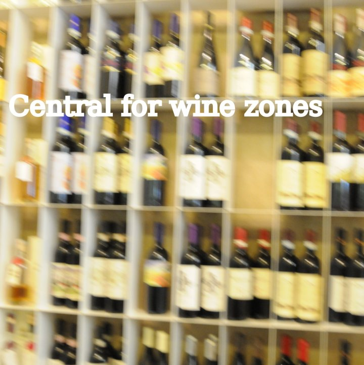 cetntral for wine zones