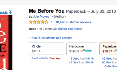I loved this book, but I read it initially because LOOK AT THE REVIEWS!