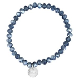 Top facet armbandje Sisa Montana blue