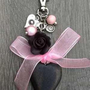 Sleutelhanger Fiona roze