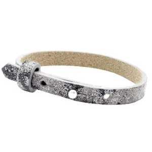Leren armband Ava enkel met zeeuwse knop