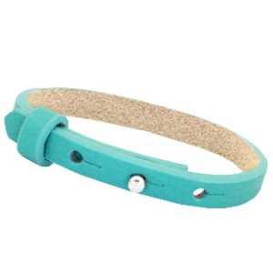 Kinder leren armband Ava enkel met zeeuwse knop