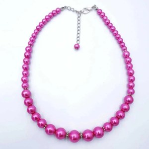 Ketting Dusty fuchsia